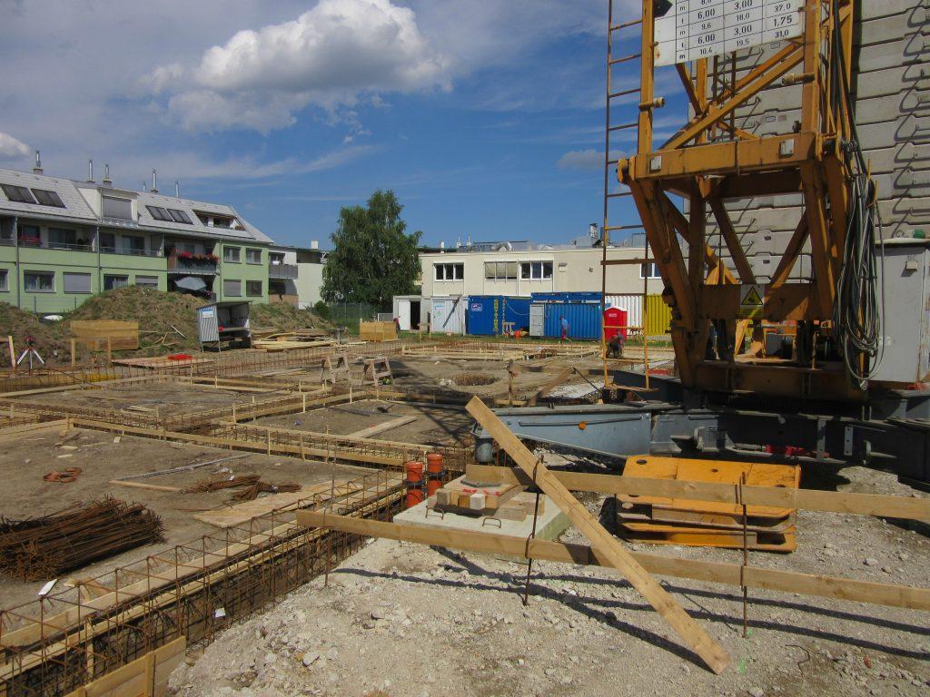 Baubeginn MFH Kolbegasse 71