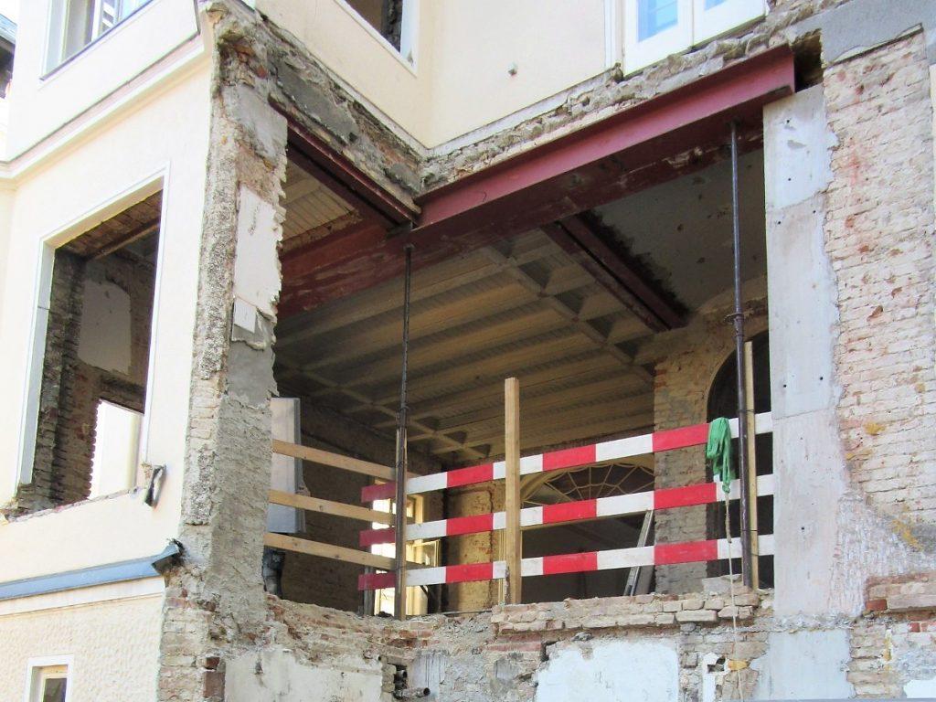 Bauphase EFH Gymnasiumstraße